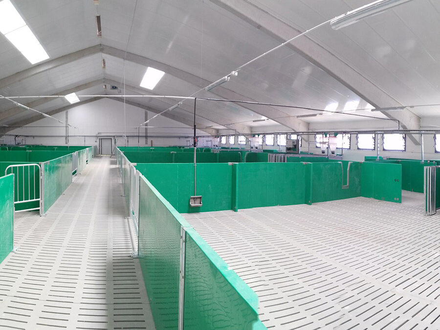 Sistemas avanzados en una nueva granja en Ávila