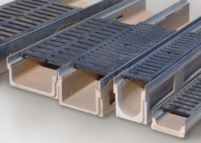 Canal perfil zincado / inox