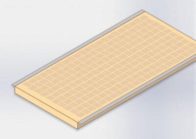 Placa de calefacción para destete INOX
