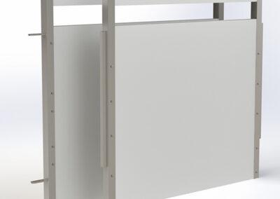 Puerta de plástico PVC