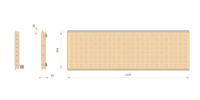 Placa de Calefacción INOX 2