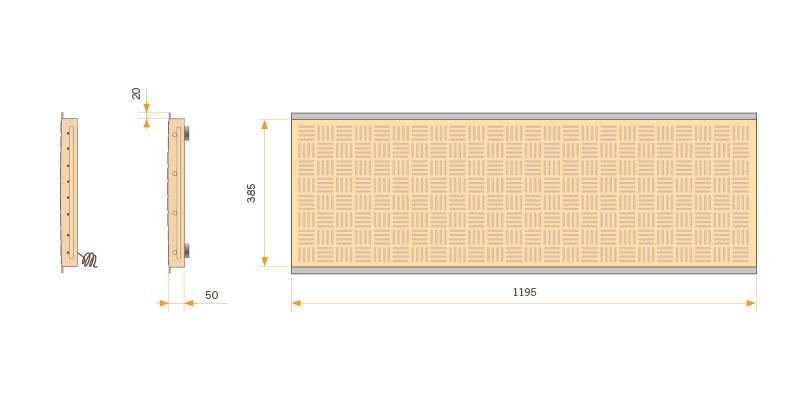 Placa de Calefacción INOX 1